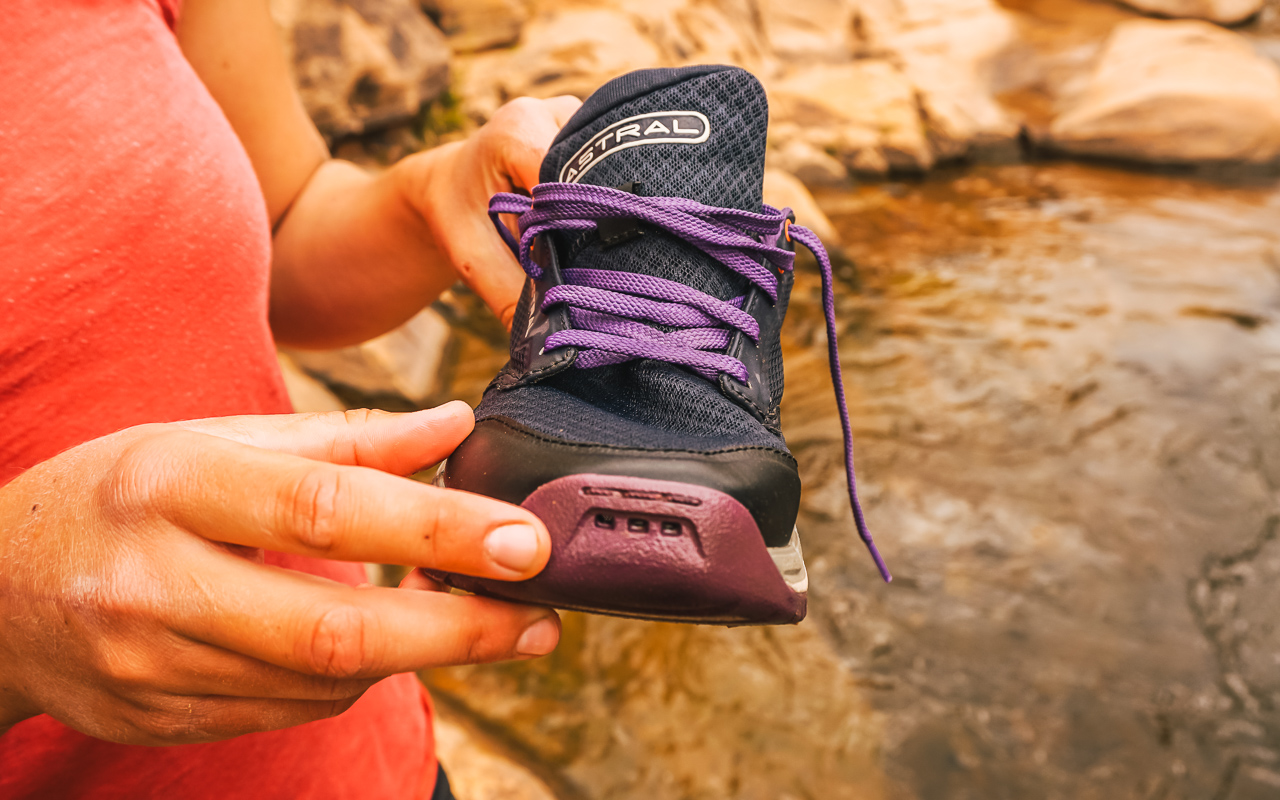 1cfba3ecb987 The drainage allows the water to escape properly but the materials also add  to the quick drying capabilities of the TR1 Mesh shoes. The mesh is a  Ripstop 2D ...
