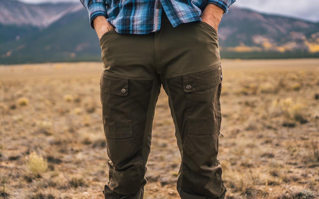 Mens Keb Trousers Long Fjallraven
