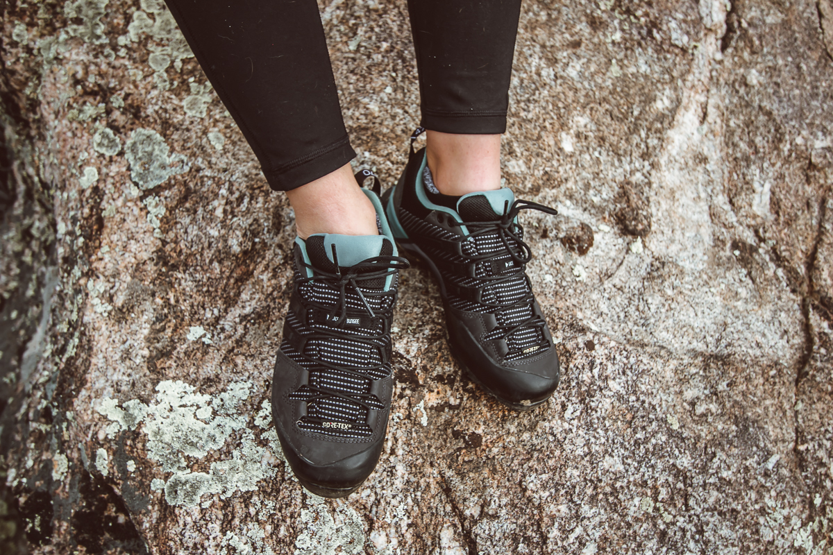 If you re looking for a burley hiking approach shoe with an amazingly  grippy Stealth rubber outsole 143a86b7a