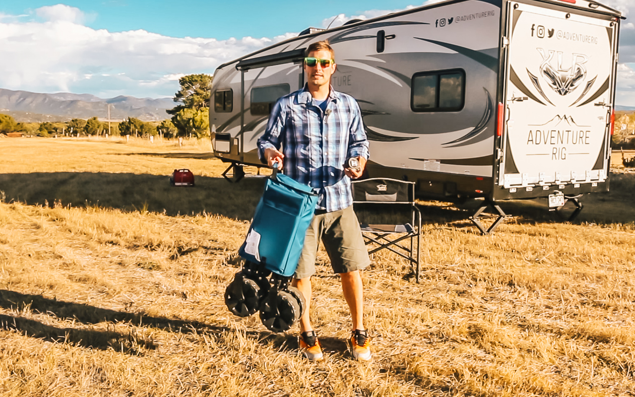 Review  The Camping Folding Beach Wagon by Timber Ridge – Adventure Rig ccfdf1a801